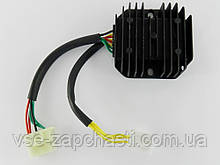 Регулятор напряжения 4т GY6-125/150сс 8 проводов (3+5 фишка мама)
