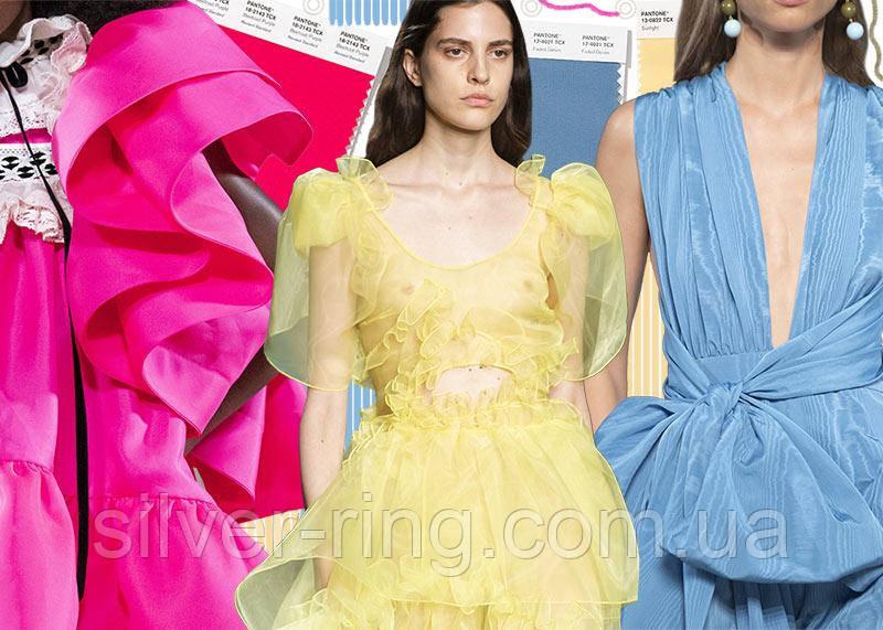 Лучшие 30 цветов которые будут модны в  2020году от NYFW & LFW