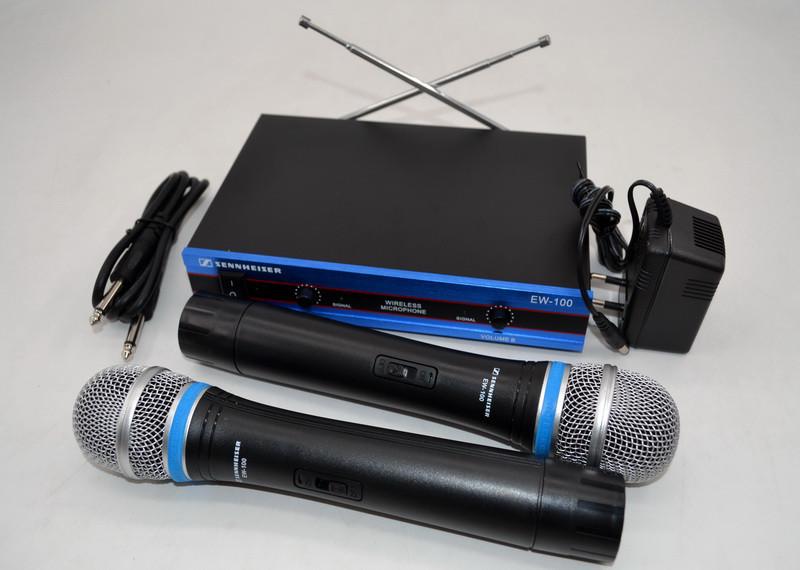 Радіосистема на 2 мікрофони Sennheiser EW-100