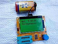 Тестер ESR LCR транзисторов и проверки радиодеталей, с батарейкой.
