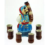 Подарочный набор Козак с пушкой, 7 предметов