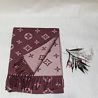 Женский шарф Louis Vuitton (Premium-class) капучино