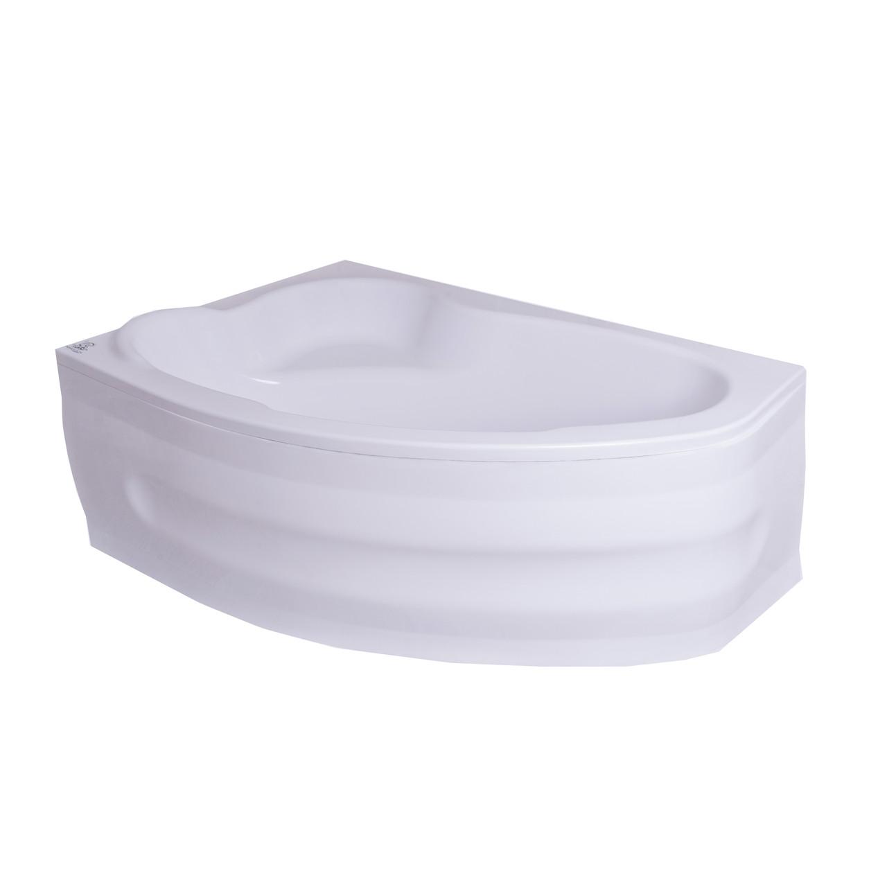 Угловая акриловая ванна Liora Lux 170*100 см