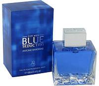 🎁Мужские - Antonio Banderas Blue Seduction men (edt 100 ml реплика) Антонио Бандерас блю седакшн | духи, парфюм, парфюмерия интернет магазин, мужской
