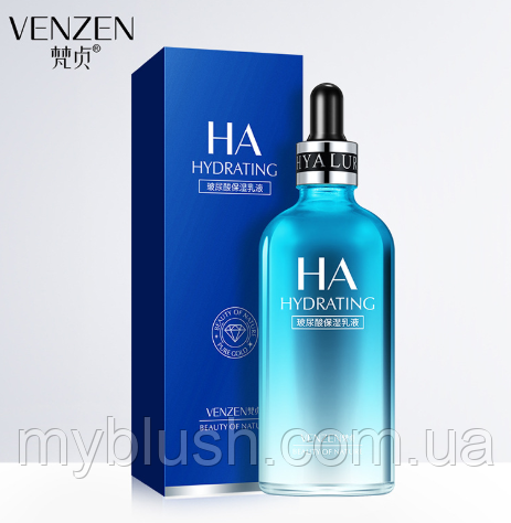 Сыворотка антивозрастная VENZEN для лица и тела гиалуроновая кислота 100 ml