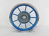 Диски Yamaha 2,15-10 титановые передний+ задний (синие), фото 2