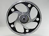 Диск задний 1,6-17 Вайпер Актив (титан) стрела кругл, фото 2