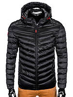 Куртка мужская демисезонная (осенне - весенняя) K368 - черный L, Черный
