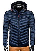 Куртка мужская демисезонная (осенне - весенняя) K368 - Синий M, Синий
