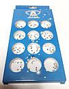 Набор для декора ногтей дизайн маникюр украшение мелкие блестящие, фото 2