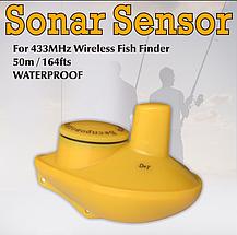 Датчик кораблик беспроводной для эхолотов Fish Finder, сонар.Сенсор (sonar), фото 3