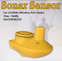 Датчик кораблик бездротовий для ехолотів Fish Finder, сонар.Сенсор (sonar), фото 3