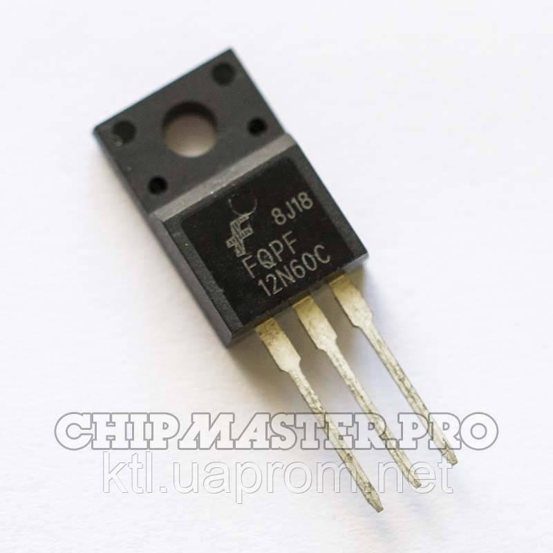 FQPF12N60C, N-Ch 600V 12A 650mΩ [TO-220F]