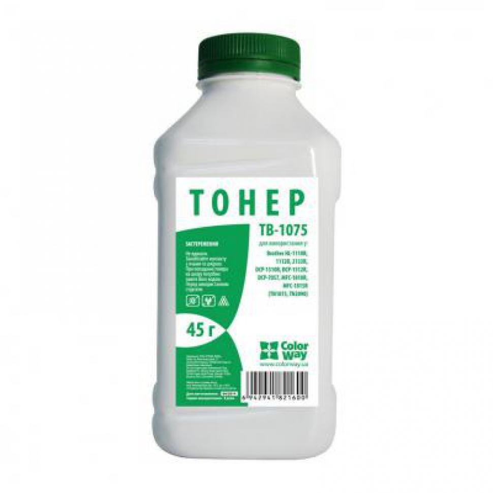 Тонер ColorWay TB-1075 Black