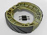 Колодки барабанного тормоза Honda Lead 50/90/Дельта/GY6-50/ 60/80/Альфа/Актив SPI (тайвань), фото 3