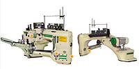 Ming Jang MJ62GX-460- 02/H1/H2/SV/AT/AW/TK1 Плоскошовная шестиниточная швейная машина (флэт-лок) с цилиндрической платформой