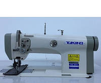 Taking ТК-551 Одноигольная машина с унисонным продвижением материала (ролик-ролик) для тяжелых материалов