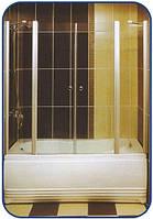 Распашная шторка на ванну 1500х1600, фото 1