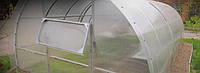 Арочная теплица 3х4х2 м из профильной трубы 30х30.