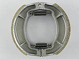 Колодки барабанного тормаза 4т GY6-50/150сс, 13 колесо (китай) TVR, фото 2