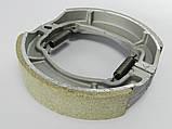 Колодки барабанного тормаза 4т GY6-50/150сс, 13 колесо (китай) TVR, фото 3