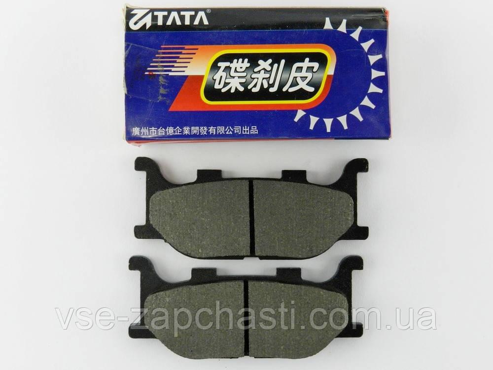 Колодки дискового тормоза GY6-150/Yamaha MAJESTY 250cc, SRZ-150, TATA (китай)
