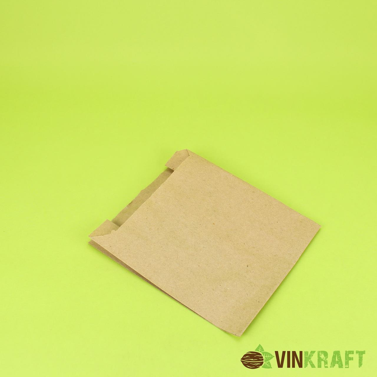 Паперовий пакет 140*60*230 (40 г/м2), крафт (100 шт)