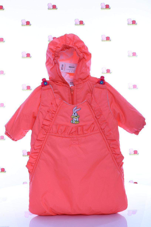 Куртка демисезонная  и конверт   для девочек от рождения до года