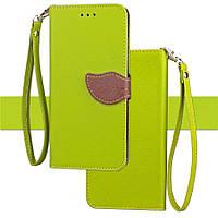 Чехол Leaf для Xiaomi Mi A2 Lite / Redmi 6 Pro книжка кожа PU Green, фото 1
