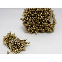 Тычинки перламутровые золотые около 20шт. (код 01355)