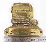 Старый настенный барельеф, бронзовая табличка van Lambalgen, бронза, Германия, фото 5
