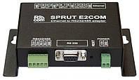 Sprut E2COM - преобразователь интерфейсов RS232 или RS485/422 в Ethernet