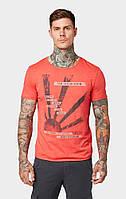 Мужская красная футболка TOM TAILOR Denim TT 10133010012 15220