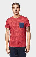Мужская красная футболка TOM TAILOR Denim TT 10132990012 20434