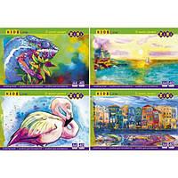 Альбом для рисования А4, 40 листов, 120 г/м2, клееный блок KIDS Line ZiBi (UA)