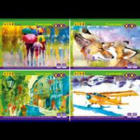 Альбом для рисования А4, 40 листов, 120 г/м2, на скобе, KIDS Line ZiBi (UA)
