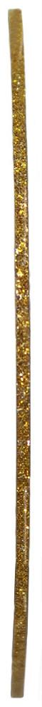 Голографическая полоска для ногтей ANVI 1 мм (золотая с блестками)