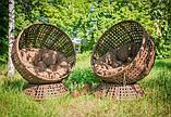 Крутящееся кресло из искусственного ротанга Верона, фото 5