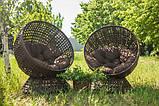Крутящееся кресло из искусственного ротанга Верона, фото 6