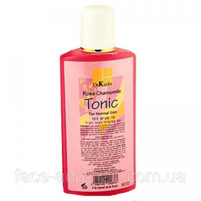 Тоник для нормальной кожи роза-ромашка Dr. Kadir Rose Chamomile Tonic for Normal Skin 250 мл