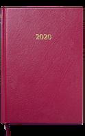 Ежедневник датированный buromax bm.2129-13 бордовый 2020 год strong a5 на 336 страниц