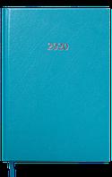 Ежедневник датированный buromax bm.2129-06 бирюзовый 2020 год strong a5 на 336 страниц