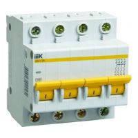 Автоматический выключатель ВА47-29 4P 16A 4.5кА х-ка C ИЭК