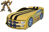 Кровать машина Бамблби. Bumblebee, фото 1