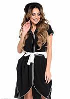 Платья с юбкой тюльпан  9792  S M черный