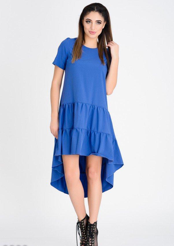 Платья  9809  S синий