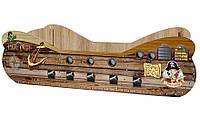 Ліжко Серія «Піратський корабель» VIORINA-DEKO, фото 1
