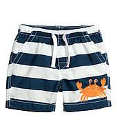 Летние шорты H&M. 9-12, 12-18 месяцев.