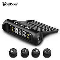 Система контроля давления и температуры в шинах (TPMS) Yoelbaer YB-68 (С наружными датчиками)