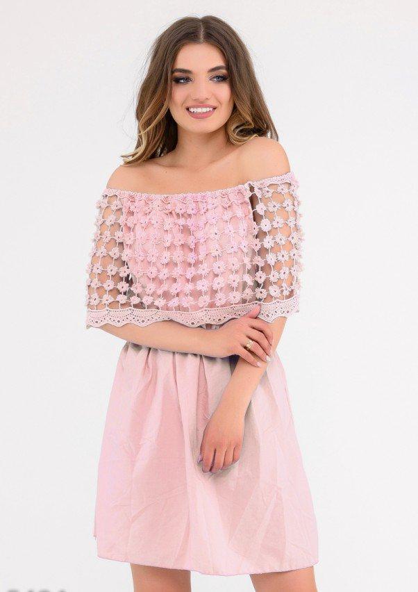 Платья  5484  M розовый